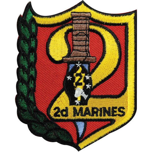 2nd Marines Regimental Patch