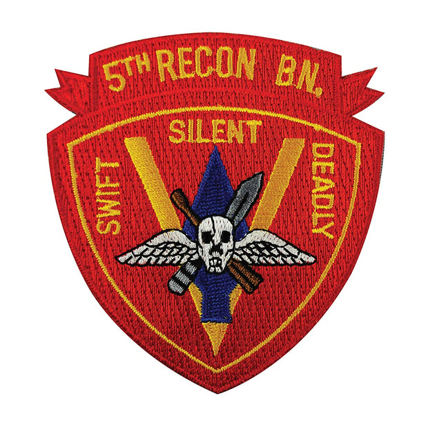 5th Recon Battalion Patch