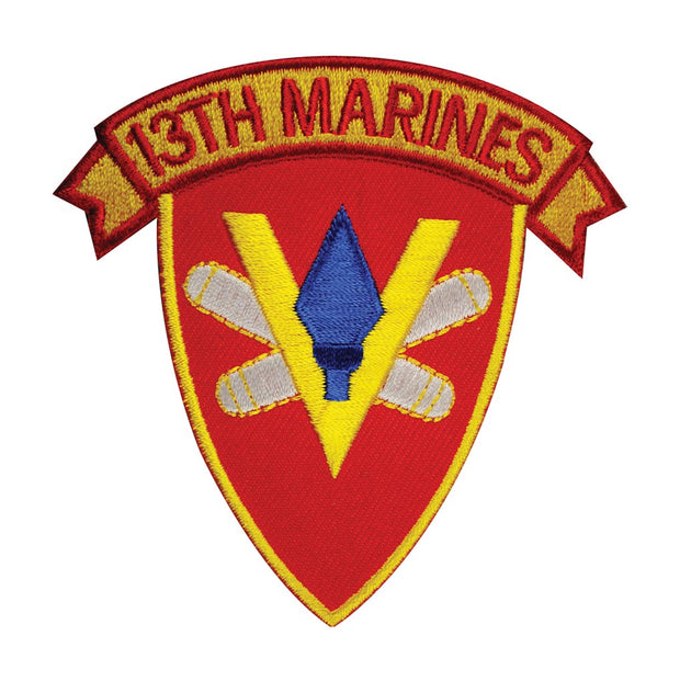 13th Marines Regimental Patch