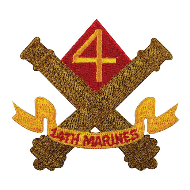 14th Marine Regiment Patch