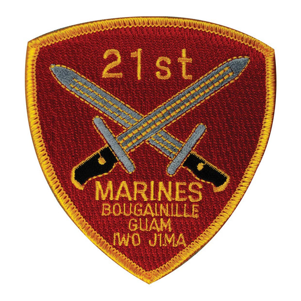 21st Marines Regimental Patch
