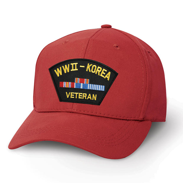 WWII - Korea Veteran Patch Cover
