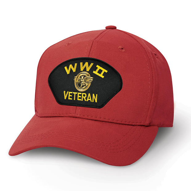 WWII Veteran Patch Cover