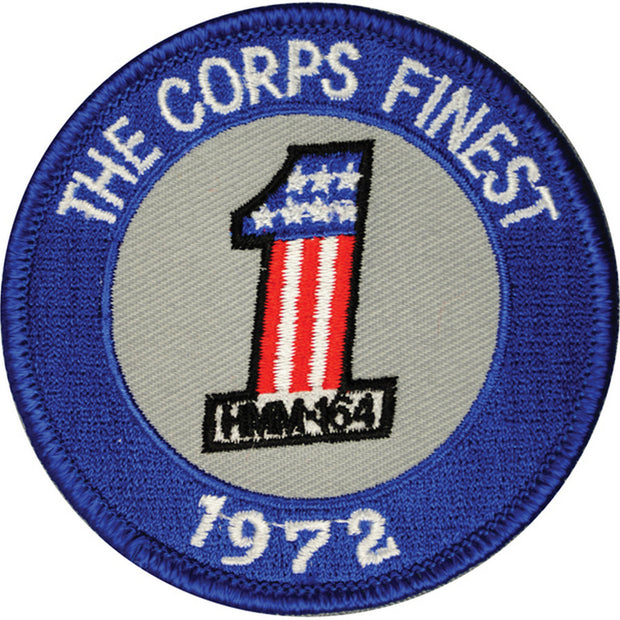 HMM-164 The Corps Finest 1972 Patch
