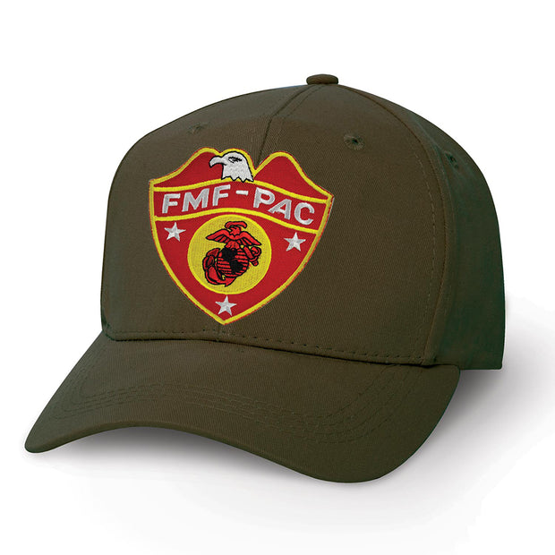 FMF PAC with Eagle Globe and Anchor Patch Cover