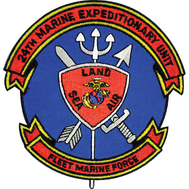 24th MEU Fleet Marine Force Patch