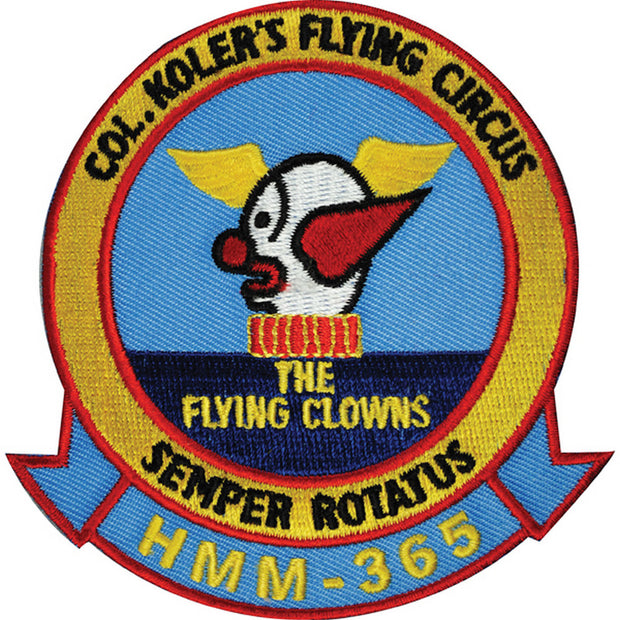 HMM-365 Col. Koler's Flying Circus - The Fying Clowns Patch