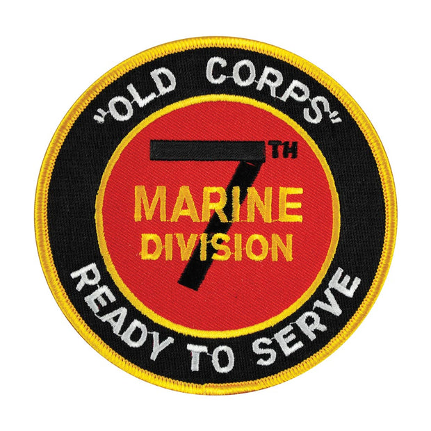 7th Marines Old Corps Patch