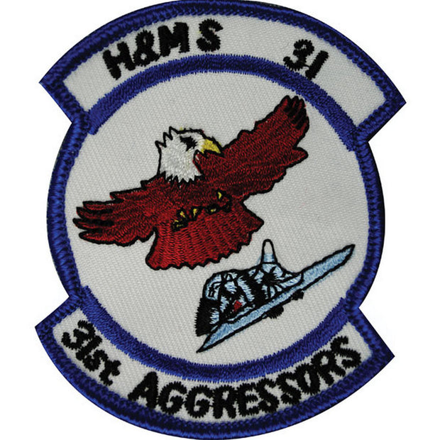 H&MS-31 - 31st Aggressors Patch