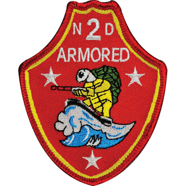 2nd Armored Battalion Patch