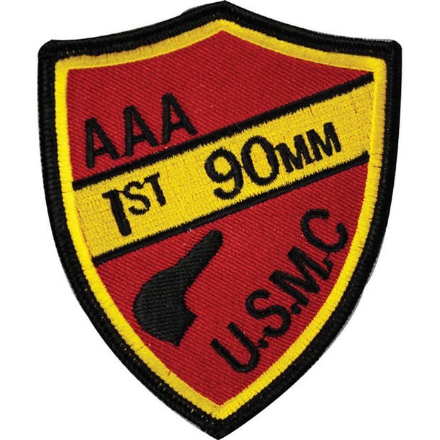AAA 1st 90MM USMC Patch