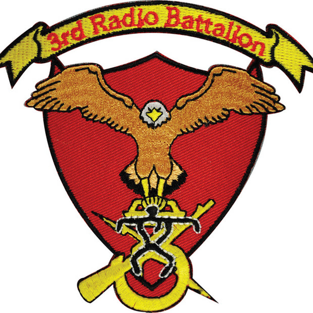3rd Radio Battalion Patch