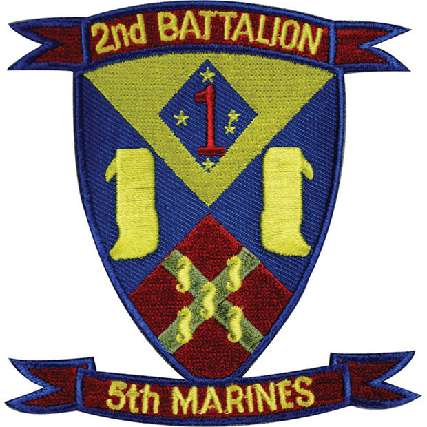 2nd Battalion 5th Marines Patch