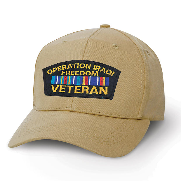 Operation Iraqi Freedom Veteran Cover Patch Cover