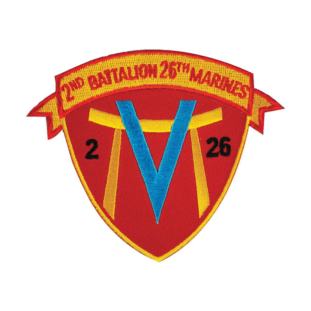 2nd Battalion 26th Marines Patch