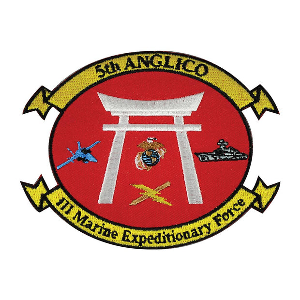 5th Anglico Patch