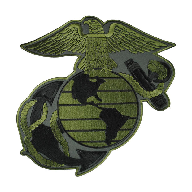 Eagle Globe and Anchor OD Green Patch