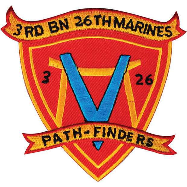 3rd Battalion 26th Marines Patch