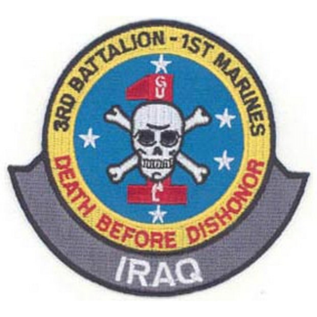 Iraq - 3rd Battalion 1st Marines Patch