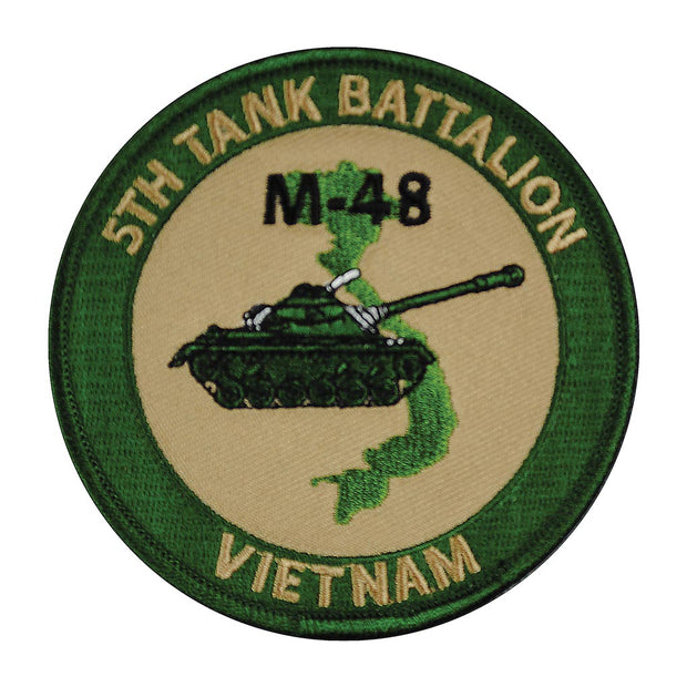 5th Tank Battalion Patch