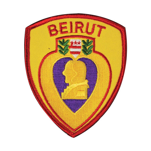 Beirut Purple Heart Patch
