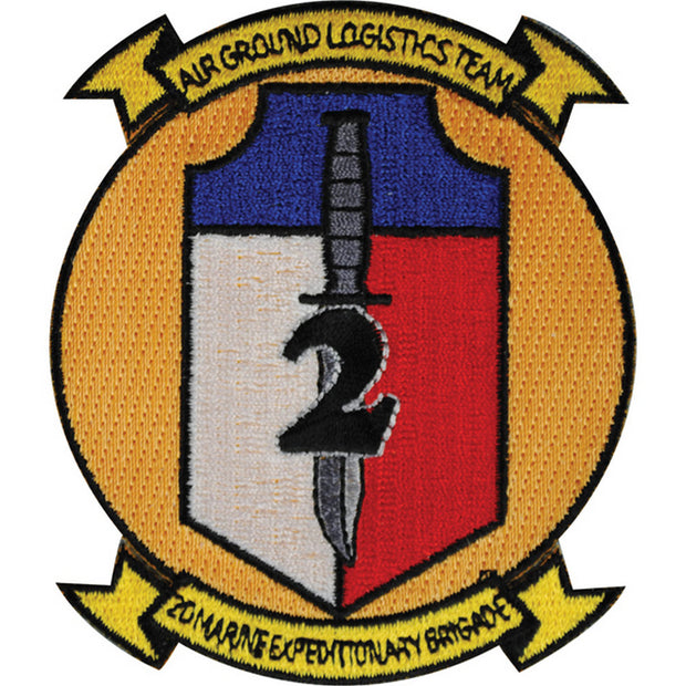 2D Marine Expeditionary Brigade Patch