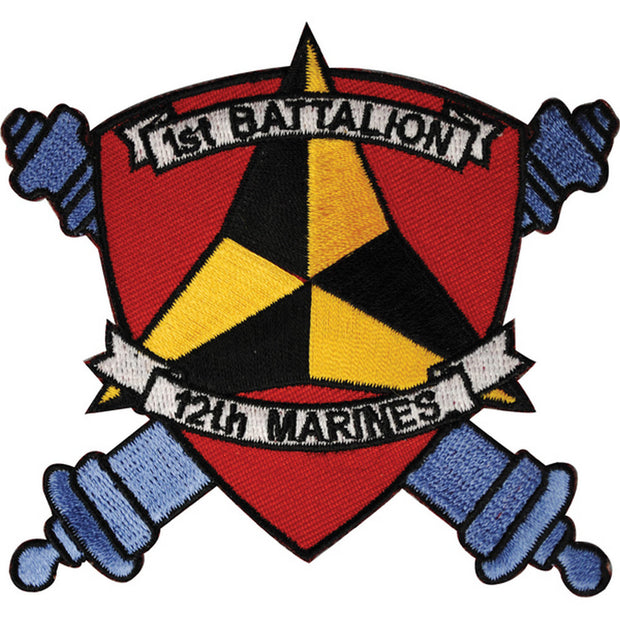 1st Battalion 12th Marines Patch