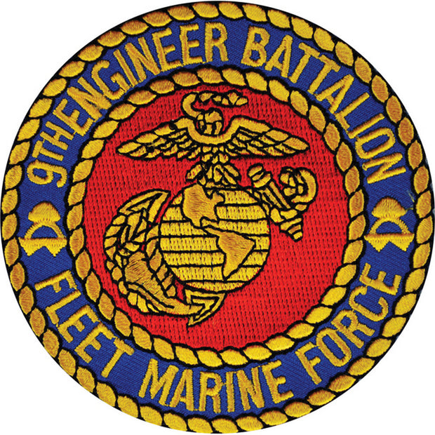9th Marine Engineer Battalion Patch
