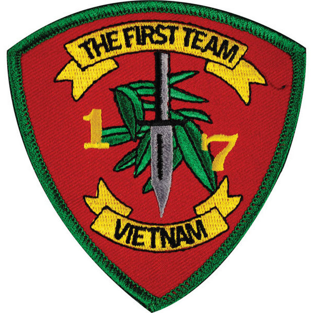1/7 Vietnam First Team Patch