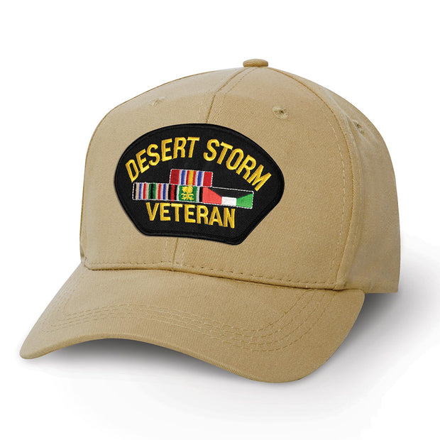 Desert Storm Veteran Cover Patch Cover