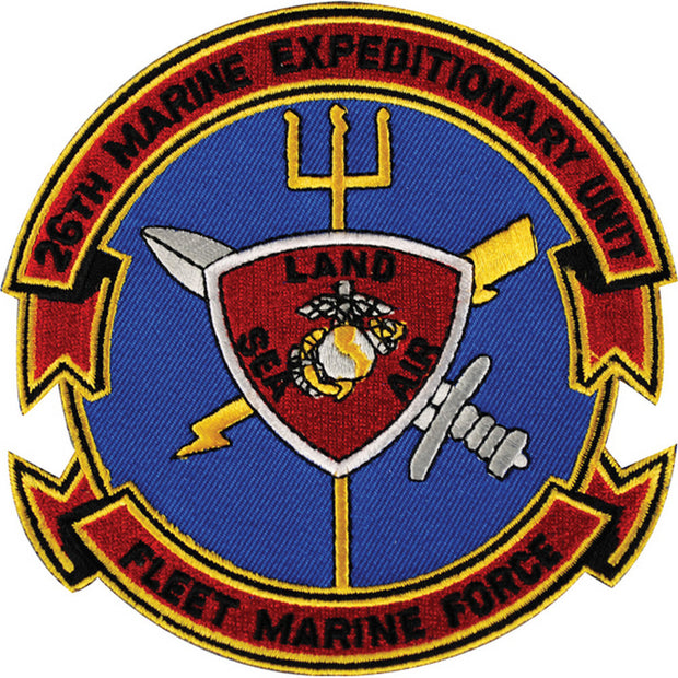 26th Marines Expeditionary Unit - FMF Patch