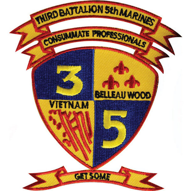 3rd Battalion 5th Marines Patch