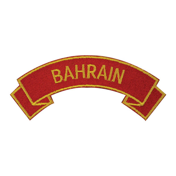 Bahrain Rocker Patch