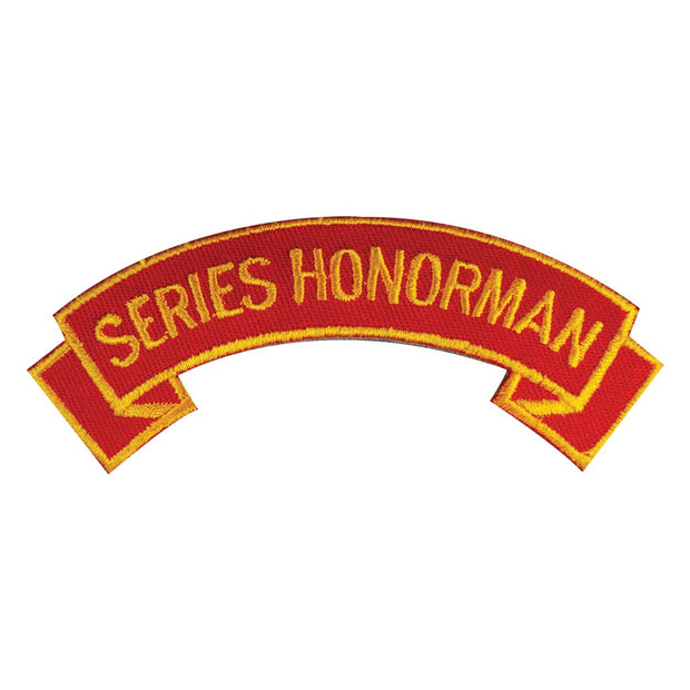 Series Honorman Rocker Patch