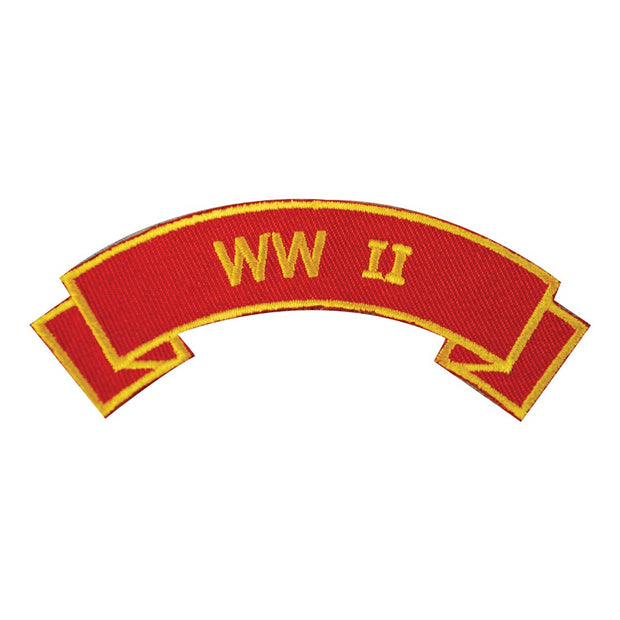 WWII Rocker Patch