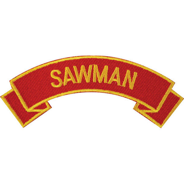 Sawman Rocker Patch