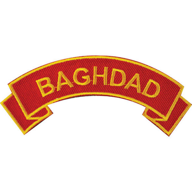 Baghdad Rocker Patch