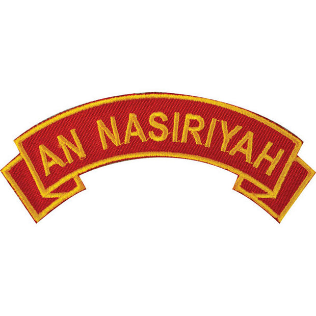 An Nasiriyah Rocker Patch