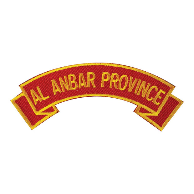 Al Anbar Province Rocker Patch