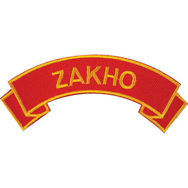 Zakho Rocker Patch
