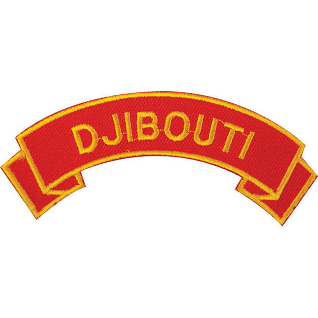 Djibouti Rocker Patch