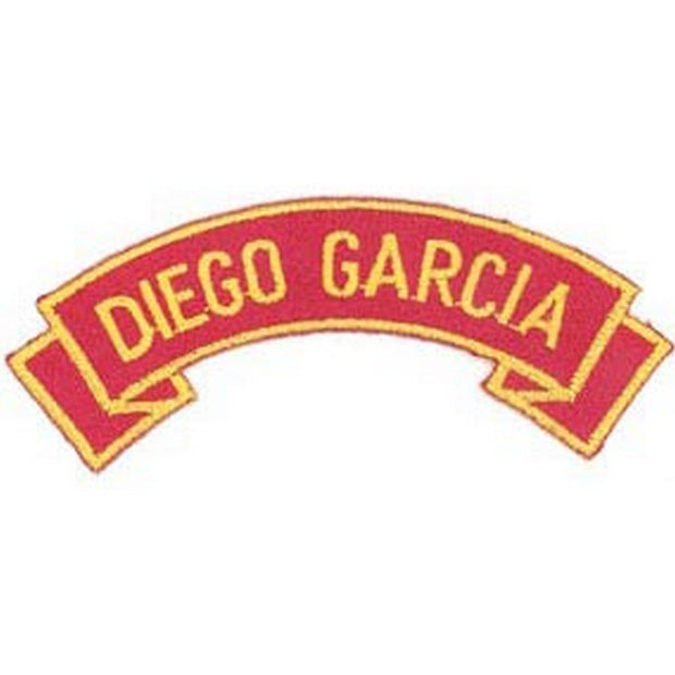 Diego Garcia Rocker Patch