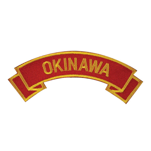 Okinawa Rocker Patch