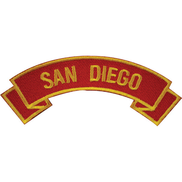 San Diego Rocker Patch