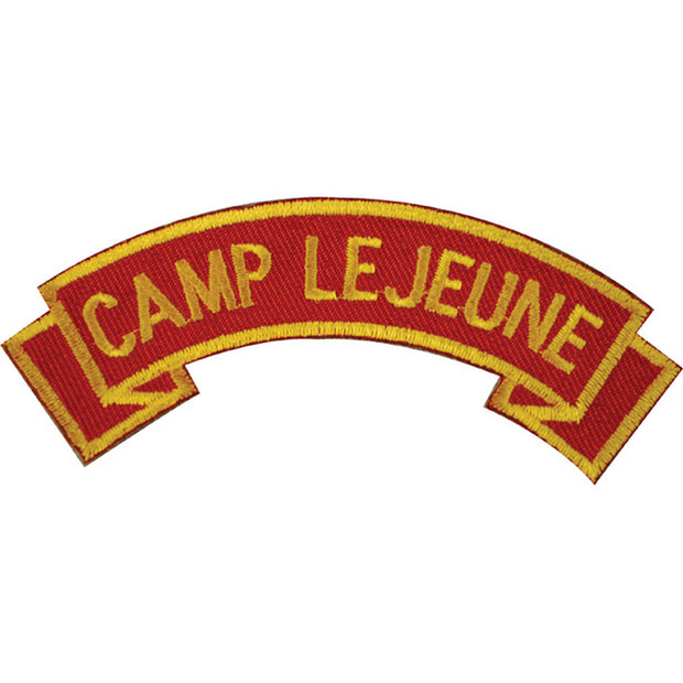 Camp Lejeune Rocker Patch