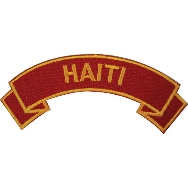 Haiti Rocker Patch