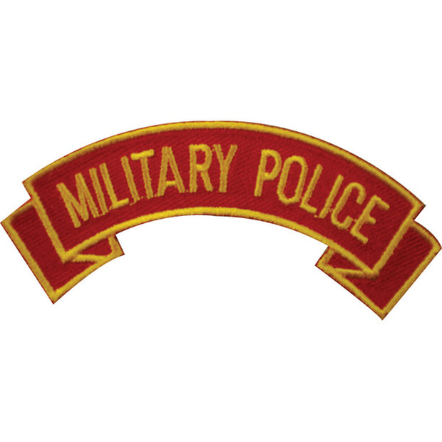 Military Police Rocker Patch