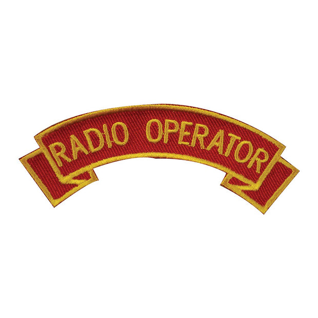 Radio Operator Rocker Patch