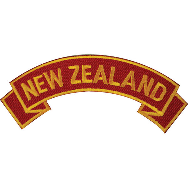 New Zealand Rocker Patch