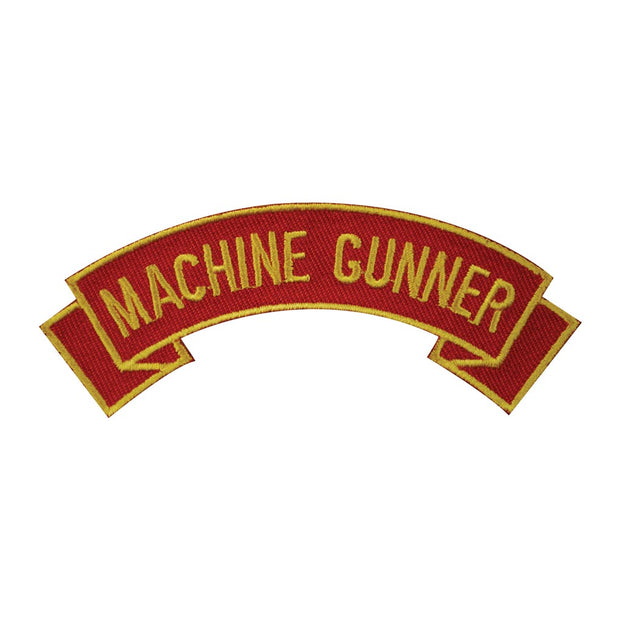 Machine Gunner Rocker Patch